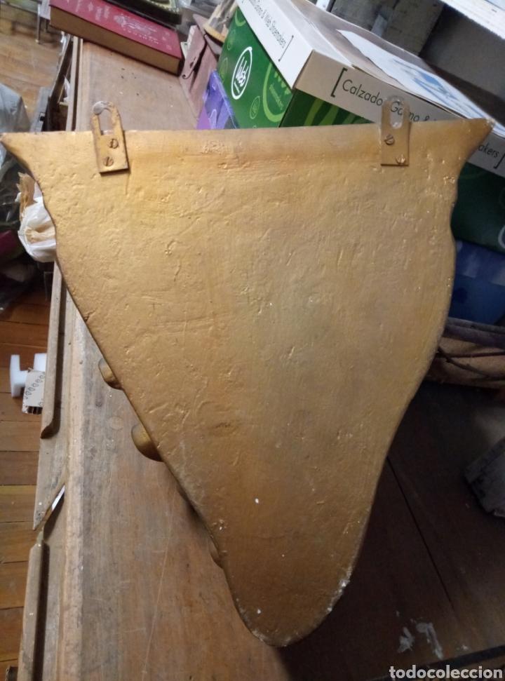 Antigüedades: Peana mensula Estuco y madera - Foto 3 - 183544355