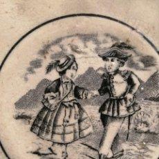 Antiguidades: PEQUEÑO PLATO CARTAGENA. Lote 232107275