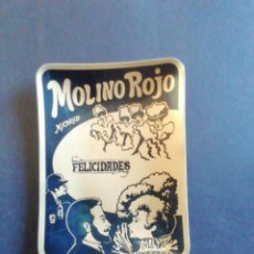 Antigüedades: CENICERO DEL MOLINO ROJO. MADRID.. Lote 232134520