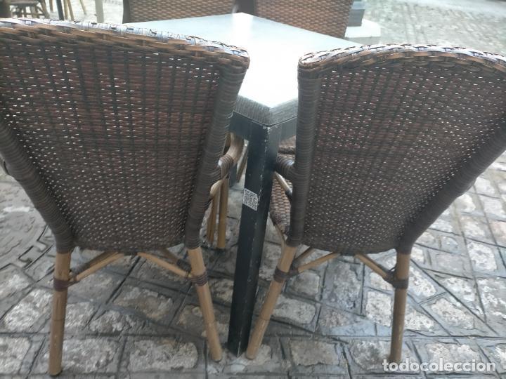 Antigüedades: SOLO RECOGIDA CADIZ CAPITAL CENTRO 24 sillas y 6 mesas de terraza BAR RESTAURANTE - Foto 20 - 229701075