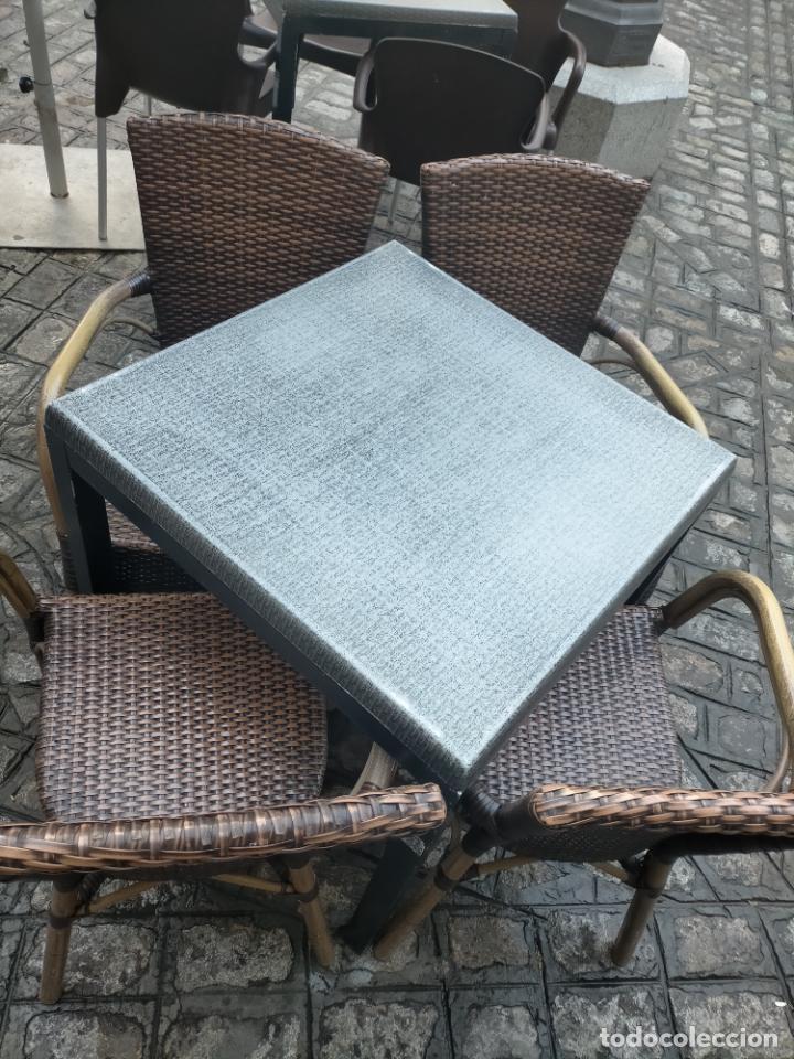 Antigüedades: SOLO RECOGIDA CADIZ CAPITAL CENTRO 24 sillas y 6 mesas de terraza BAR RESTAURANTE - Foto 36 - 229701075