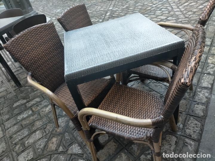 Antigüedades: SOLO RECOGIDA CADIZ CAPITAL CENTRO 24 sillas y 6 mesas de terraza BAR RESTAURANTE - Foto 37 - 229701075