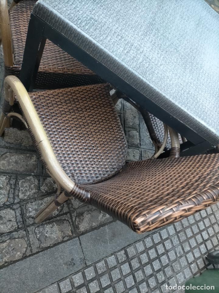 Antigüedades: SOLO RECOGIDA CADIZ CAPITAL CENTRO 24 sillas y 6 mesas de terraza BAR RESTAURANTE - Foto 38 - 229701075