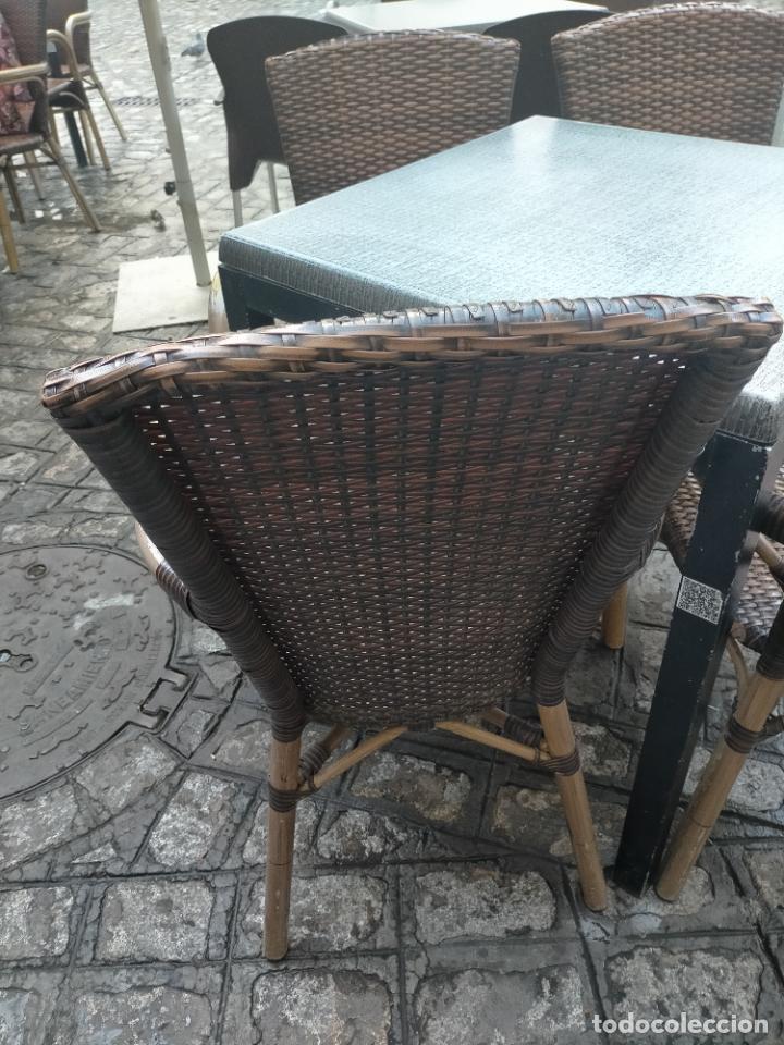 Antigüedades: SOLO RECOGIDA CADIZ CAPITAL CENTRO 24 sillas y 6 mesas de terraza BAR RESTAURANTE - Foto 39 - 229701075