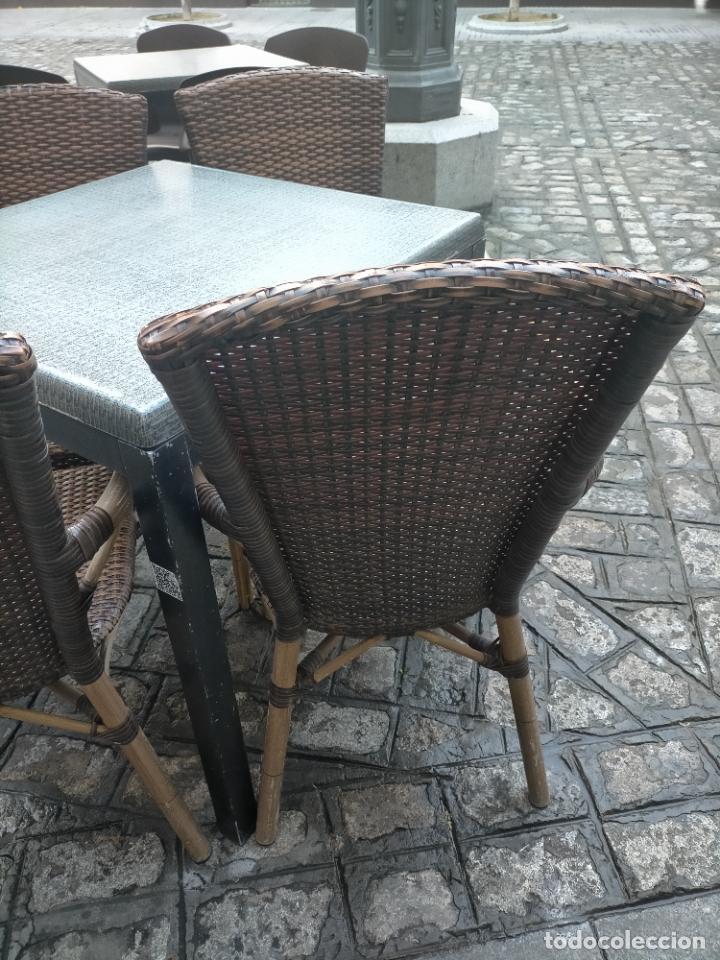 Antigüedades: SOLO RECOGIDA CADIZ CAPITAL CENTRO 24 sillas y 6 mesas de terraza BAR RESTAURANTE - Foto 40 - 229701075