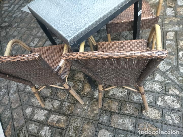Antigüedades: SOLO RECOGIDA CADIZ CAPITAL CENTRO 24 sillas y 6 mesas de terraza BAR RESTAURANTE - Foto 42 - 229701075