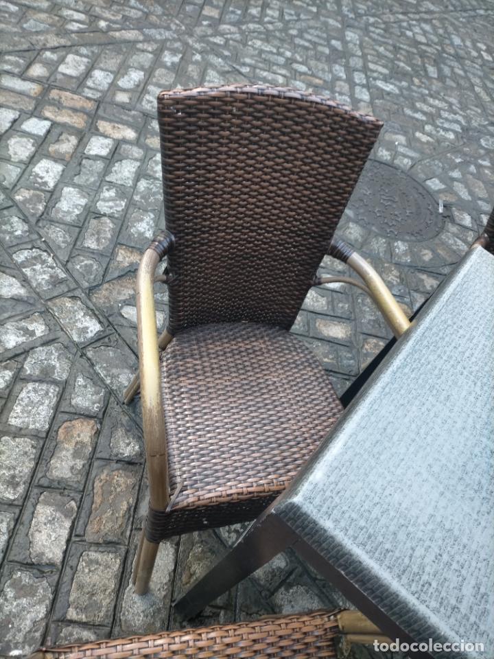 Antigüedades: SOLO RECOGIDA CADIZ CAPITAL CENTRO 24 sillas y 6 mesas de terraza BAR RESTAURANTE - Foto 43 - 229701075