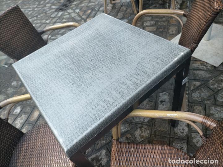 Antigüedades: SOLO RECOGIDA CADIZ CAPITAL CENTRO 24 sillas y 6 mesas de terraza BAR RESTAURANTE - Foto 44 - 229701075