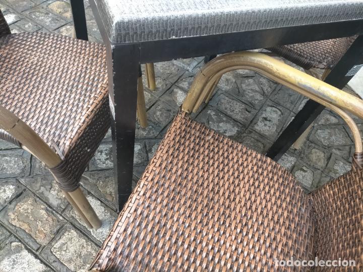 Antigüedades: SOLO RECOGIDA CADIZ CAPITAL CENTRO 24 sillas y 6 mesas de terraza BAR RESTAURANTE - Foto 45 - 229701075