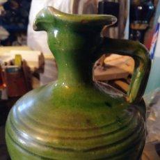 Antiquités: ALCUZA JARRA DE ÚBEDA TITO. CERÁMICA ESMALTADA VIDRIADA.. Lote 232271525