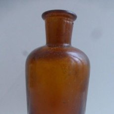 Antigüedades: VIEJO FRASCO DE FARMACIA....14 CMS DE ALTURA.. Lote 232360510
