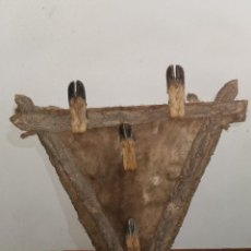 Antigüedades: ESPECTACULAR PERCHERO CINEGÉTICO. AÑOS 60. Lote 232493480