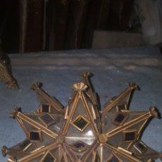 Antigüedades: FAROL DE ESTRELLA PARA PARED. Lote 232500295