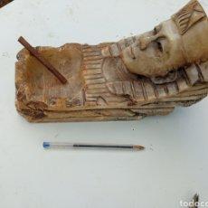 Antigüedades: CENICERO ANTIGUO DE ALABASTRO.. Lote 232507475