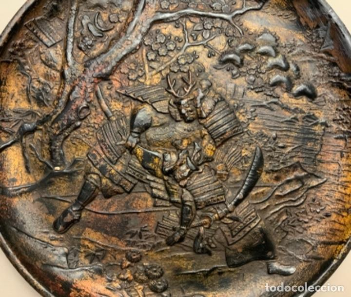 Antigüedades: PLATO METAL COREANO (s.XIX) - Foto 2 - 232510460