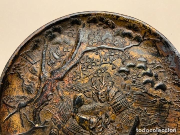 Antigüedades: PLATO METAL COREANO (s.XIX) - Foto 3 - 232510460