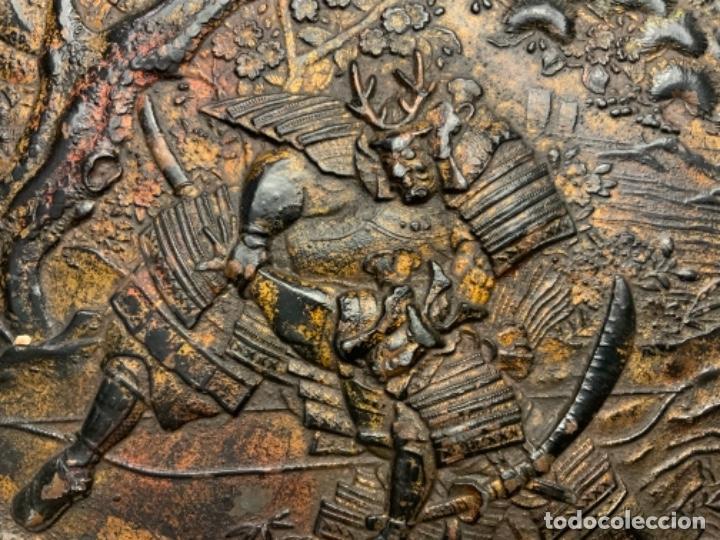 Antigüedades: PLATO METAL COREANO (s.XIX) - Foto 4 - 232510460