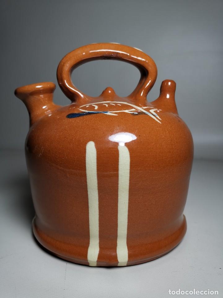 Antigüedades: ANTIGUO BOTIJO DE COLECCION-CANTIR-DE BARCO -BARCA--DE LA BISBAL- - Foto 3 - 232566515
