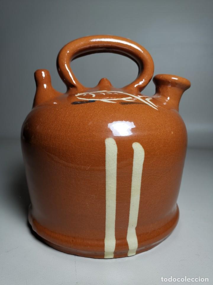 Antigüedades: ANTIGUO BOTIJO DE COLECCION-CANTIR-DE BARCO -BARCA--DE LA BISBAL- - Foto 5 - 232566515