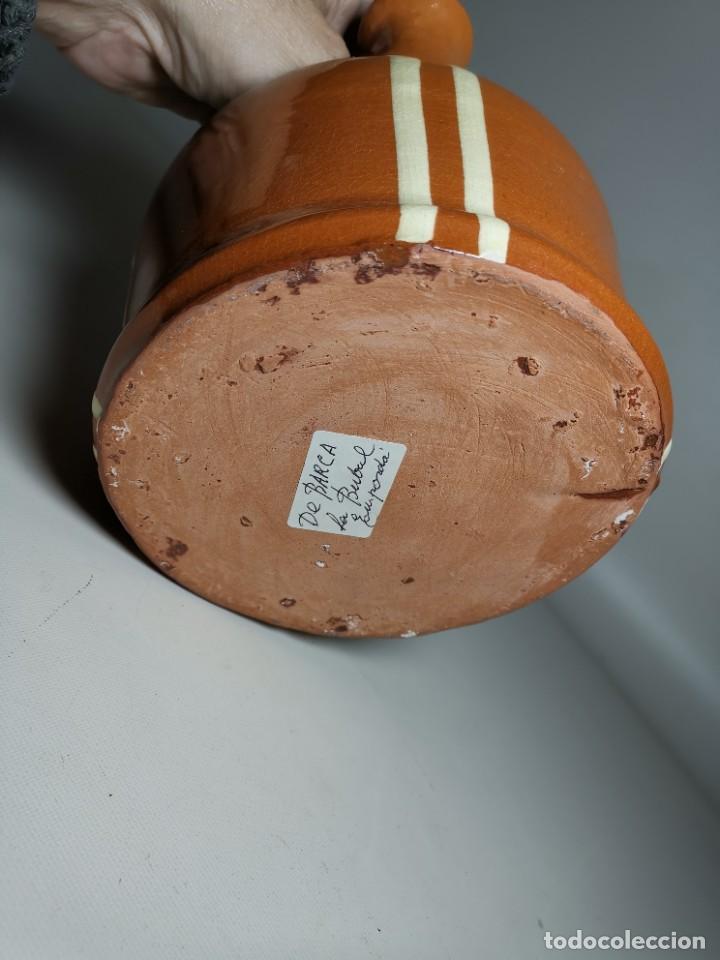 Antigüedades: ANTIGUO BOTIJO DE COLECCION-CANTIR-DE BARCO -BARCA--DE LA BISBAL- - Foto 7 - 232566515