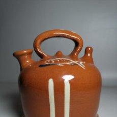 Antigüedades: ANTIGUO BOTIJO DE COLECCION-CANTIR-DE BARCO -BARCA--DE LA BISBAL-. Lote 232566515