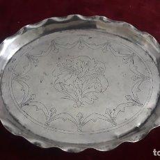 Antigüedades: SALVILLA EN PLATA COLONIAL ,PERU SIGLO XVIII-XIX. Lote 232582900