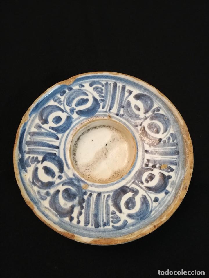 SOMBRERETE EN CERÁMICA DE VILLAFELICHE S. XVIII (Antigüedades - Porcelanas y Cerámicas - Teruel)