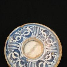 Oggetti Antichi: SOMBRERETE EN CERÁMICA DE VILLAFELICHE S. XVIII. Lote 232588305