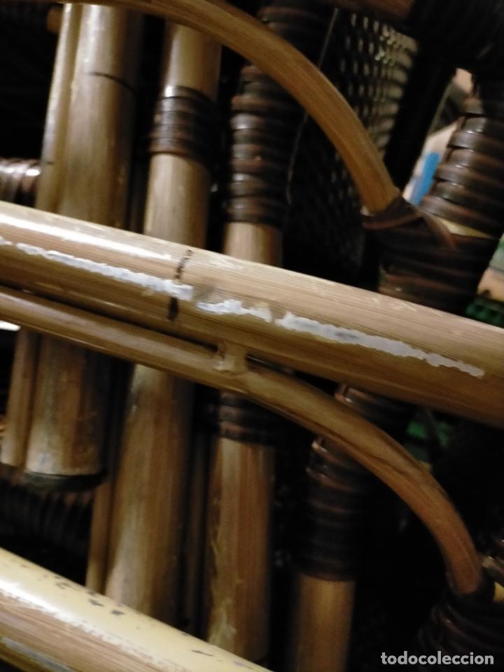 Antigüedades: SOLO RECOGIDA CADIZ CAPITAL CENTRO 24 sillas y 6 mesas de terraza BAR RESTAURANTE - Foto 47 - 229701075