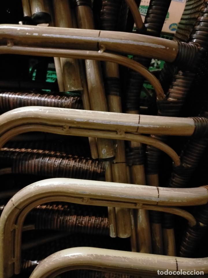 Antigüedades: SOLO RECOGIDA CADIZ CAPITAL CENTRO 24 sillas y 6 mesas de terraza BAR RESTAURANTE - Foto 49 - 229701075