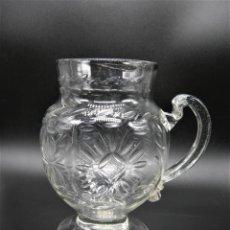 Antigüedades: PRECIOSA JARRA EN CRISTAL DE LA GRANJA S.XVIII?. Lote 232676835