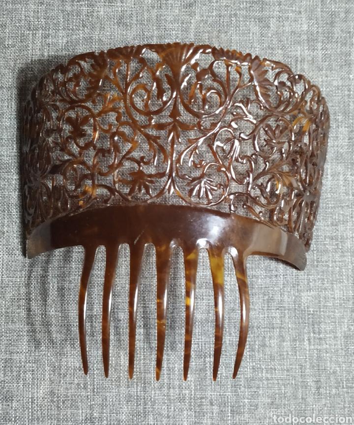 PEINETA DE CAREY, ANTIGUA ESPAÑOLA (Antigüedades - Moda - Peinetas Antiguas)