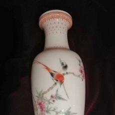 Antigüedades: JARRÓN CERÁMICA CHINA. Lote 232746485