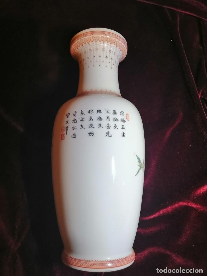 Antigüedades: JARRÓN CERÁMICA CHINA - Foto 8 - 232746485