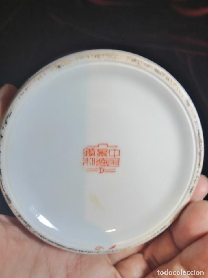 Antigüedades: JARRÓN CERÁMICA CHINA - Foto 10 - 232746485
