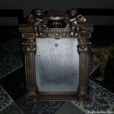 Antiquités: MARCO RESINA TIPO SACRA RELIGIOSA 25CM. Lote 232767955