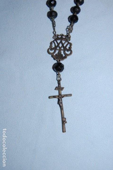 Antigüedades: ROSARIO MANO CINCO CUENTAS - Foto 3 - 232834245