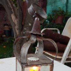 Antigüedades: FAROL ANTIGUO DE MANO.. Lote 232853031
