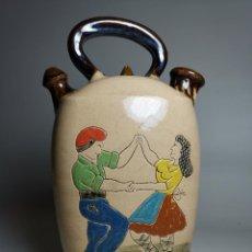 Antigüedades: ANTIGUO BOTIJO DE COLECCION-CANTIR DE LA BISBAL EMPORDA --SARDANAS. Lote 232856880