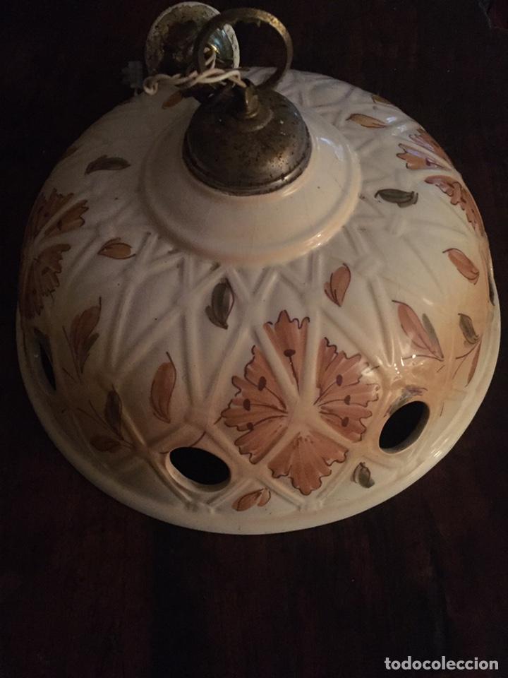 Antigüedades: Lámpara de techo de cerámica - Foto 4 - 232866190