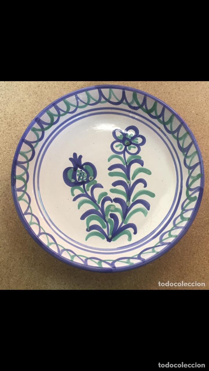 ANTIGUO PLATO GRANADINO FAJALAUZA (Antigüedades - Porcelanas y Cerámicas - Fajalauza)