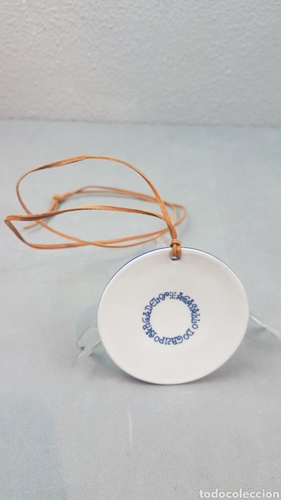 Antigüedades: Medalla de Sargadelos, III Congreso Internacional de ADHILAC. Pontevedra. Ano 2001 - Foto 3 - 232964000