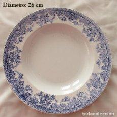 Antigüedades: PLATO ANTIGUO SAN CLAUDIO OVIEDO. Lote 232973170