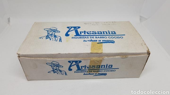 Antigüedades: SET 24 FIGURAS ALBOROX BARRO COCIDO TERRACOTA EN CAJA ORIGINAL COMPLETA Y NUEVAS Y TODAS DISTINTAS - Foto 2 - 232980015