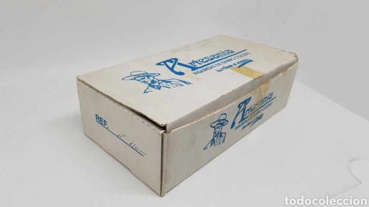 Antigüedades: SET 24 FIGURAS ALBOROX BARRO COCIDO TERRACOTA EN CAJA ORIGINAL COMPLETA Y NUEVAS Y TODAS DISTINTAS - Foto 3 - 232980015