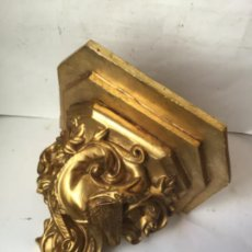 Antiquités: PRECIOSA MENSULA - PEANA , PARA GRAN IMAGEN O TALLA , BARROCA SIGLO XIX. Lote 232983905