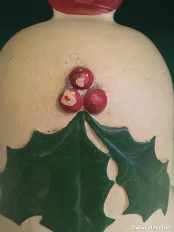 Antigüedades: Campana navidad Terracota - Foto 3 - 232985710