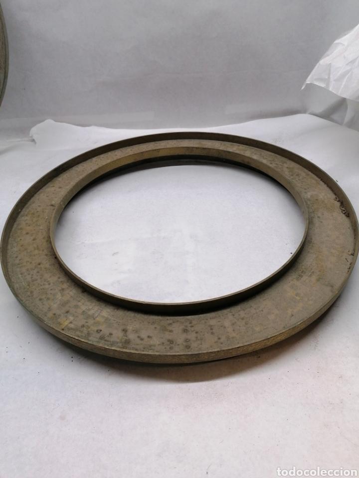 Antigüedades: Pareja Marcos metálicos - Foto 4 - 232995850