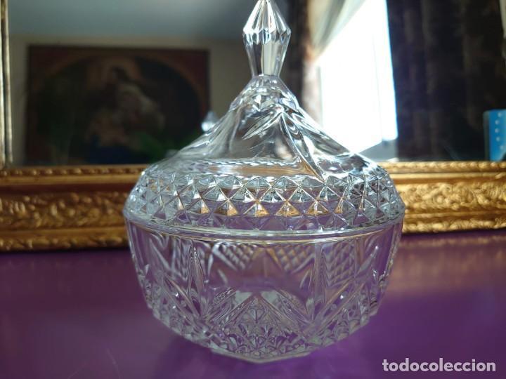 BOMBONERA CRISTAL DE BOHEMIA CHECO (Antigüedades - Cristal y Vidrio - Bohemia)