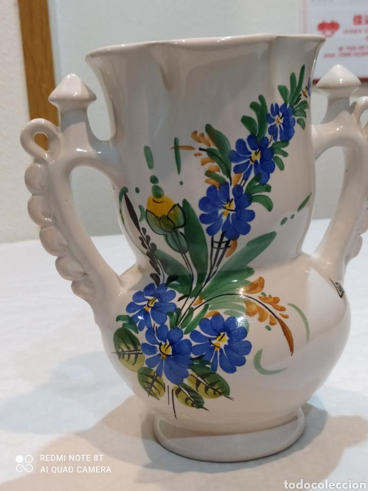 Antigüedades: Precioso jarrón antiguo de la novia de larios - Foto 2 - 233030245